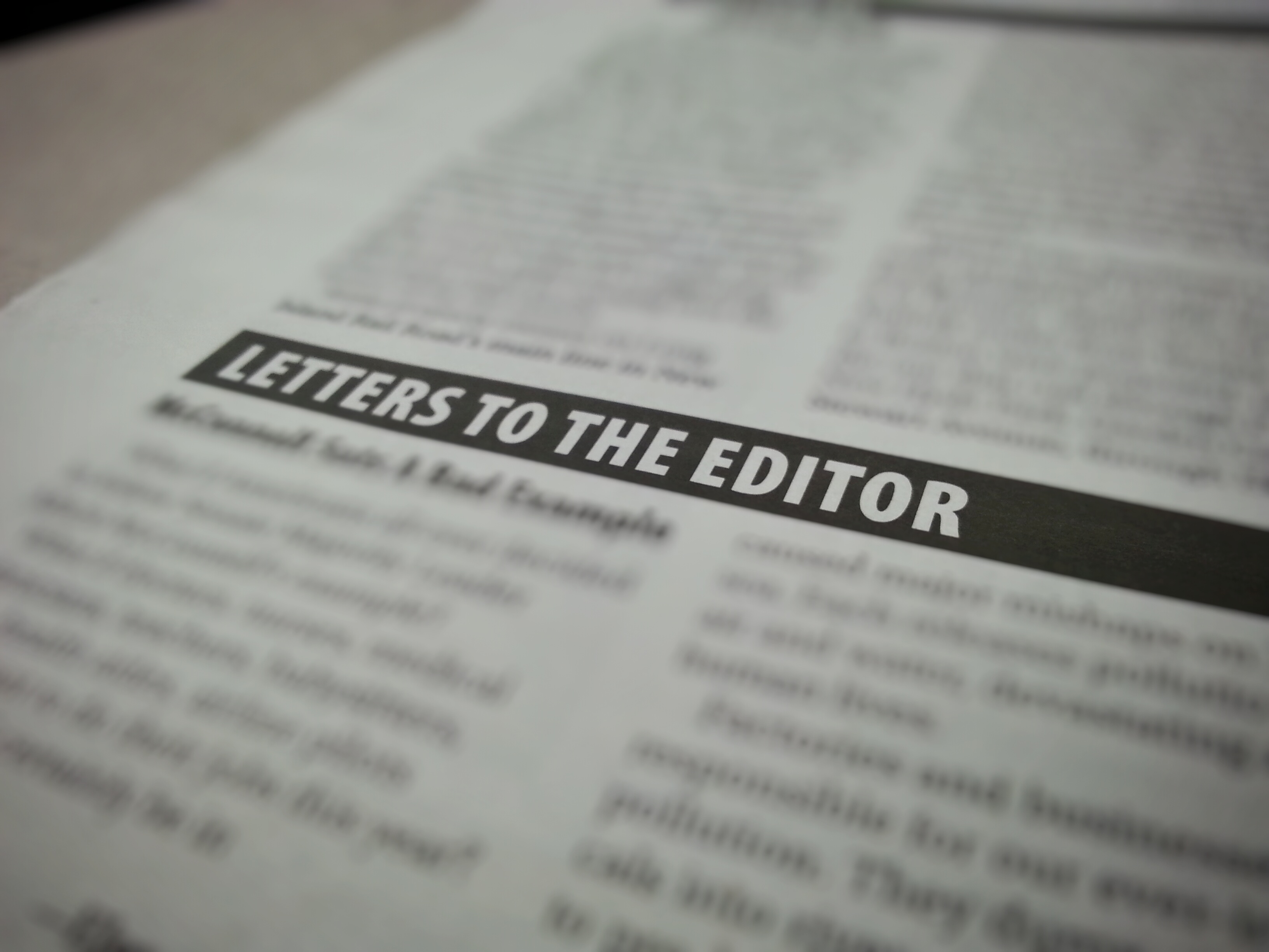 Letter to the Editor Featured Image